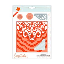 Tonic Studios Essentials Idyllics Embossingfolder & Die Set - Twisting Tiara 1598E