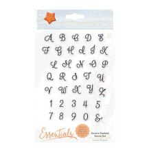 Tonic Studios Essentials Clear Stamps - Cursive Capitals 1691E