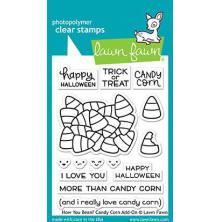 Lawn Fawn Clear Stamps 3X4 - How You Bean? Candy Corn