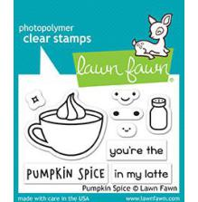 Lawn Fawn Clear Stamps 3X2 - Pumpkin Spice