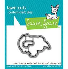 Lawn Fawn Custom Craft Die - Winter Otter