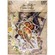 Tim Holtz Idea-0logy Layers Die-Cuts 83/Pkg - Botanical