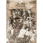 Tim Holtz Idea-0logy Paper Dolls Die-Cuts 107/Pkg - Vintage Black & White
