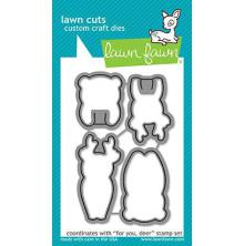 Lawn Fawn Custom Craft Die - For You, Deer