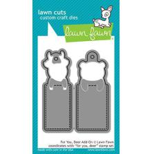 Lawn Fawn Custom Craft Die - For You, Deer Add On