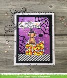 Lawn Fawn Custom Craft Die - Cute Cobweb