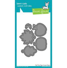 Lawn Fawn Custom Craft Die - Fall Tiny Tags
