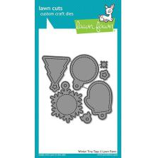 Lawn Fawn Custom Craft Die - Winter Tiny Tags