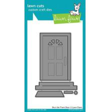 Lawn Fawn Custom Craft Die - Shut The Front Door