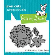 Lawn Fawn Custom Craft Die - Mini Wreath