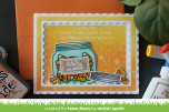 Lawn Fawn Custom Craft Die - Outside In Stitched Scalloped Rectangle
