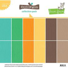 Lawn Fawn Collection Pack 12X12 12/Pkg - Knock On Wood