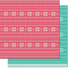Lawn Fawn Knit Picky Cardstock 12X12 - Throw Blanket