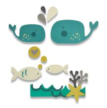 Sizzix Thinlits Die Set 14PK - Under the Sea