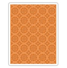 Tim Holtz Sizzix Texture Fades Embossing Folder - Rosettes