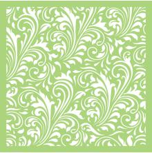 Kaisercraft Designer Template 6X6 - Swirl Flourish