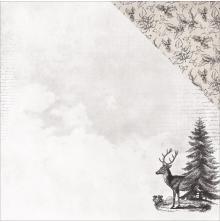 Kaisercraft Christmas Edition Double-Sided Cardstock 12X12 - Christmas Tree UTGÅ