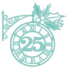Kaisercraft Decorative Die - Christmas Clock