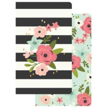 Simple Stories Carpe Diem Travelers Notebook Inserts - Bloom