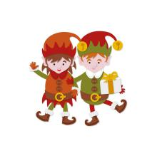 Tonic Studios Essentials Christmas Buildables - Erin & Eric Elf 1751E
