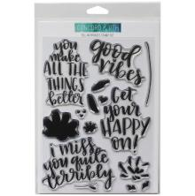 Concord & 9th Clear Stamps 6X8 - Fill-In Phrases