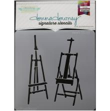 Donna Downey Signature Stencils 8.5X8.5 - Easels UTGÅENDE