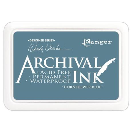 Ranger Ink Archival Inkpad - Cornflower Blue