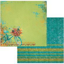 BoBunny Dreams Of Autumn Double-Sided Cardstock 12X12 - Thankful UTGÅENDE