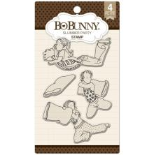 BoBunny Clear Stamps 6X4 - Slumber Party UTGÅENDE