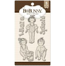 BoBunny Clear Stamps 6X4 - What A Splash