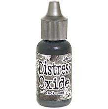 Tim Holtz Distress Oxide Ink Reinker 14ml - Black Soot