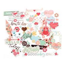 My Prima Planner Ephemera Cardstock Die-Cuts - Be Happy
