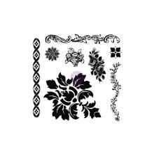 Prima Iron Orchid Designs Decor Clear Stamps 12X12 - Fleur