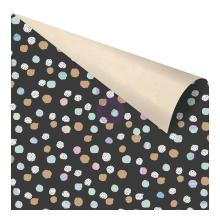 Prima Zella Teal Double-Sided Cardstock 12X12 - Offset Dot