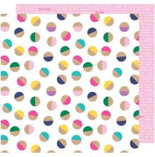 Shimelle Glitter Girl Double-Sided Cardstock 12X12 - Embrace Chaos