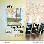 Altenew Stencil 6X6 - Layered Kaleidoscope A
