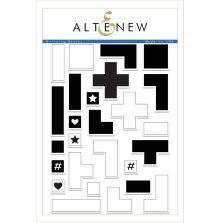 Altenew Clear Stamps 6X8 - Building Blocks