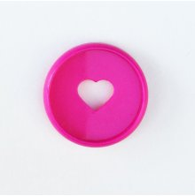 Me & My Big Ideas Planner Mini Expander Discs 9/Pkg - Bright Pink