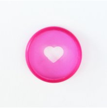 Me & My Big Ideas Planner Mini Discs 9/Pkg - Clear Pink