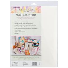 Thermoweb Rebekah Meier Designs Mixed Media Art Sheets 9X12 2/Pkg