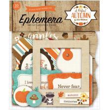 Echo Park Ephemera Cardstock Die-Cuts - A Perfect Autumn