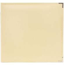 We R Memory Keepers Classic Leather D-Ring Album 12X12 - Vanilla