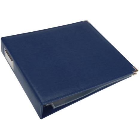 We R Memory Keepers Classic Leather D-Ring Album 12X12 - Cobalt