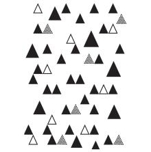 Kaisercraft Embossing Folder 4X6 - Triangle Trees