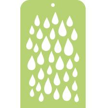 Kaisercraft Mini Designer Templates 3.5X5.75 - Raindrop