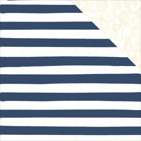 Kaisercraft Summer Splash Double-Sided Cardstock 12X12 - Beach Towel