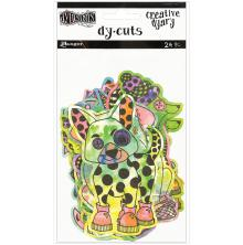 Dyan Reaveleys Dylusions Creative Dyary Die Cuts - Colored Animals