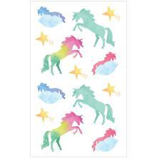Mrs. Grossmans Watercolor Stickers 4X6.5 - Unicorns Strips