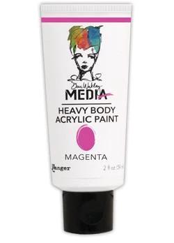Dina Wakley Media Heavy Body Acrylic Paint 59ml - Magenta