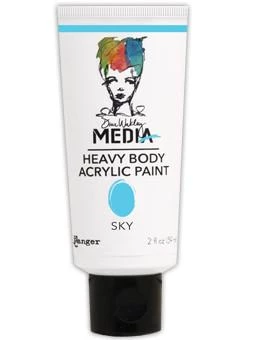 Dina Wakley Media Heavy Body Acrylic Paint 59ml - Sky